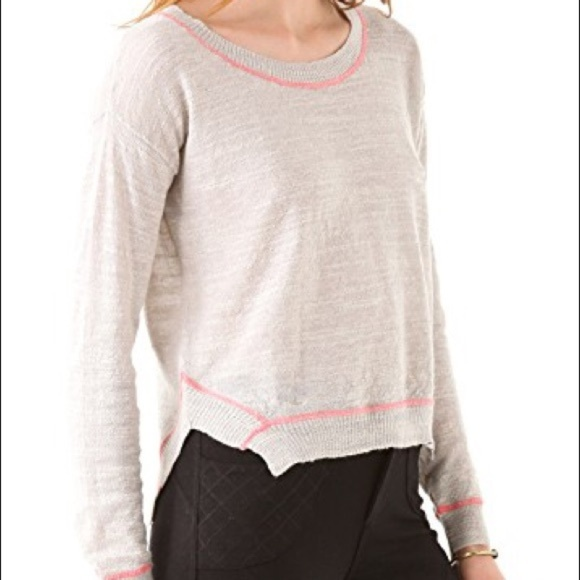 Free People Sweaters - Free People Sweater Light Beach Grey Pink